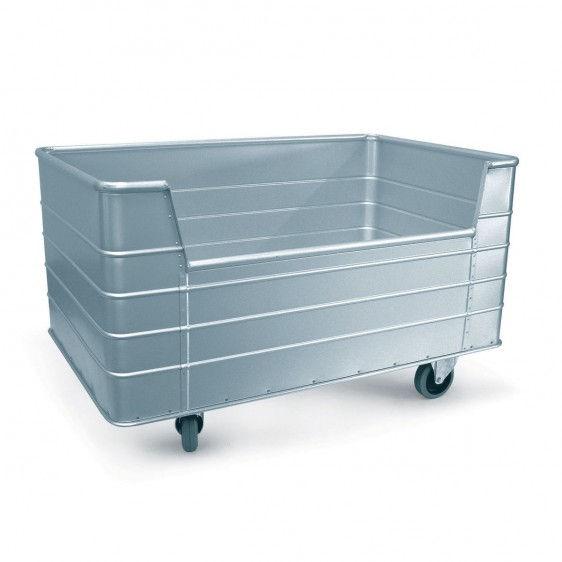 Carros de aluminio para lavandería con apertura