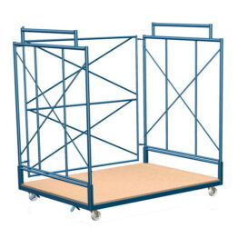 Carros contenedores para grandes cargas y volúmenes