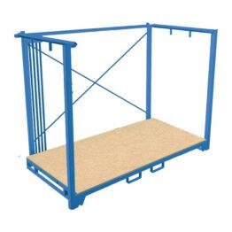 Contenedor apilable para grandes volúmenes y cargas