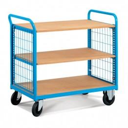 Carros de transporte con base de madera. Serie COMBI CE