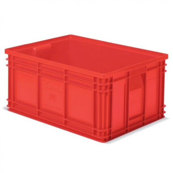 Caja de pl stico apilables zeus - Cajas de plastico ...