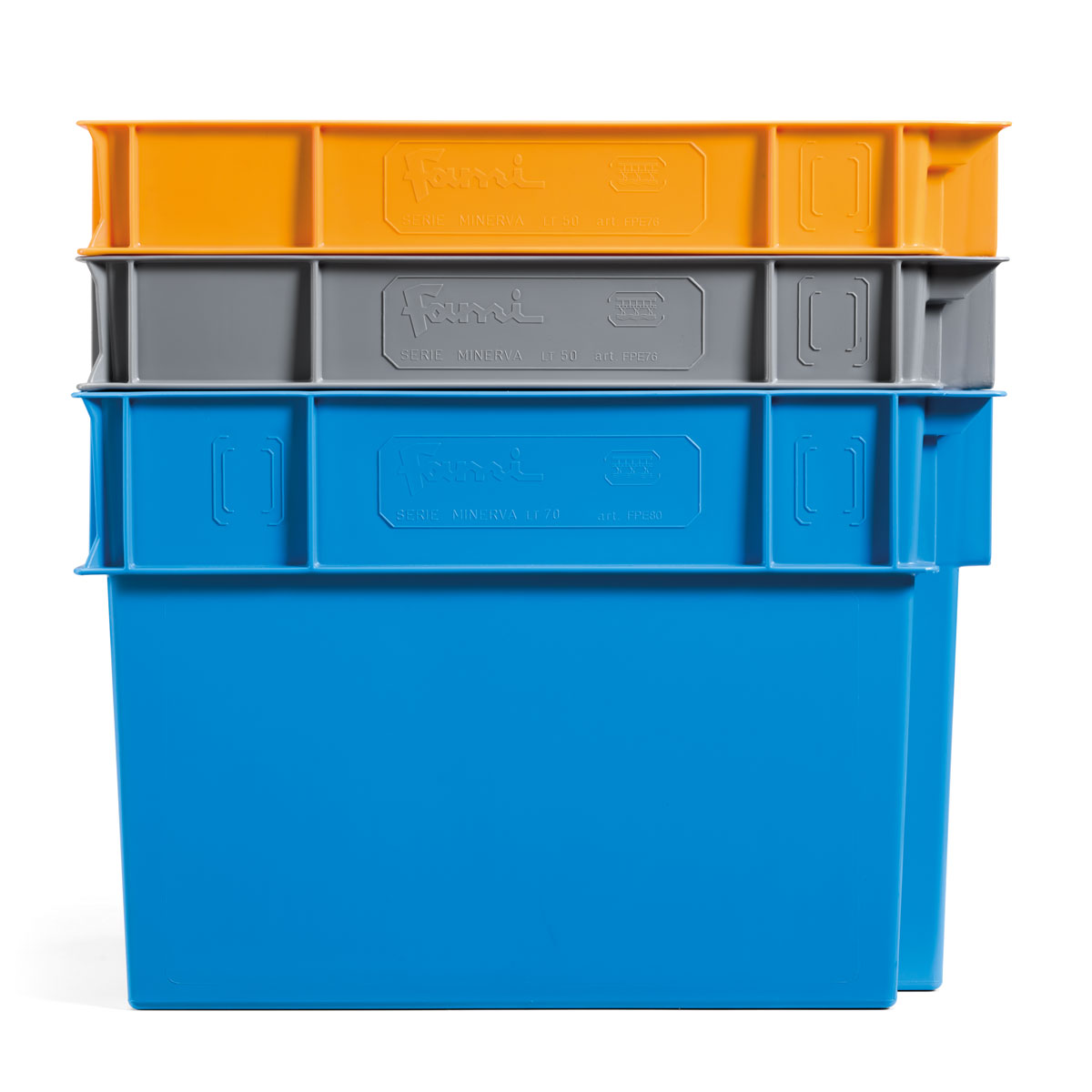 Cajas de plástico Minerva