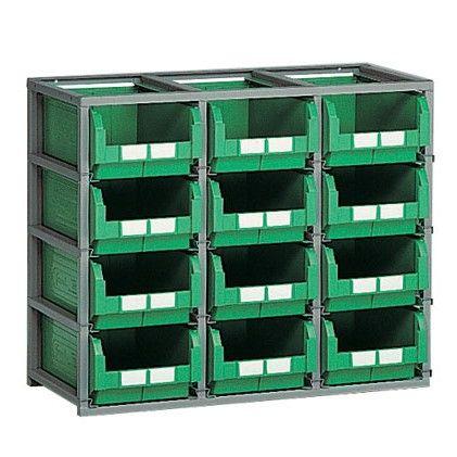 Estanterías para cajas serie DOMINO