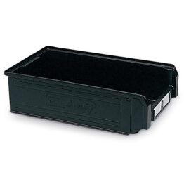 Caja de plástico ESD con frontal abierto Zeus Compat