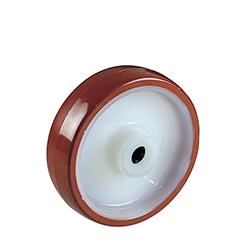 Ruedas con núcleo de nylon y cubierta de Poliuretano para cargas medias