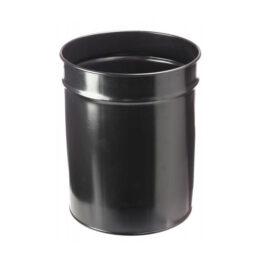 papelera-metalica-negra