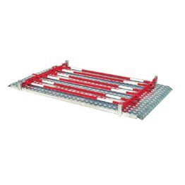 Pasarela con barandillas plegables para obras e instalaciones