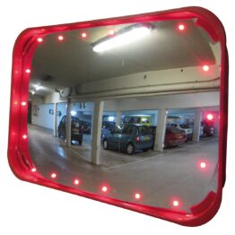 Espejos con iluminación LED para zonas de poca iluminación