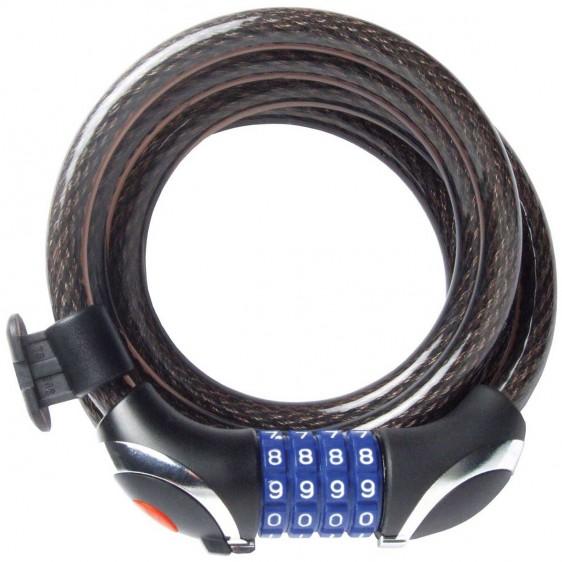 Cable de seguridad con combinación numérica