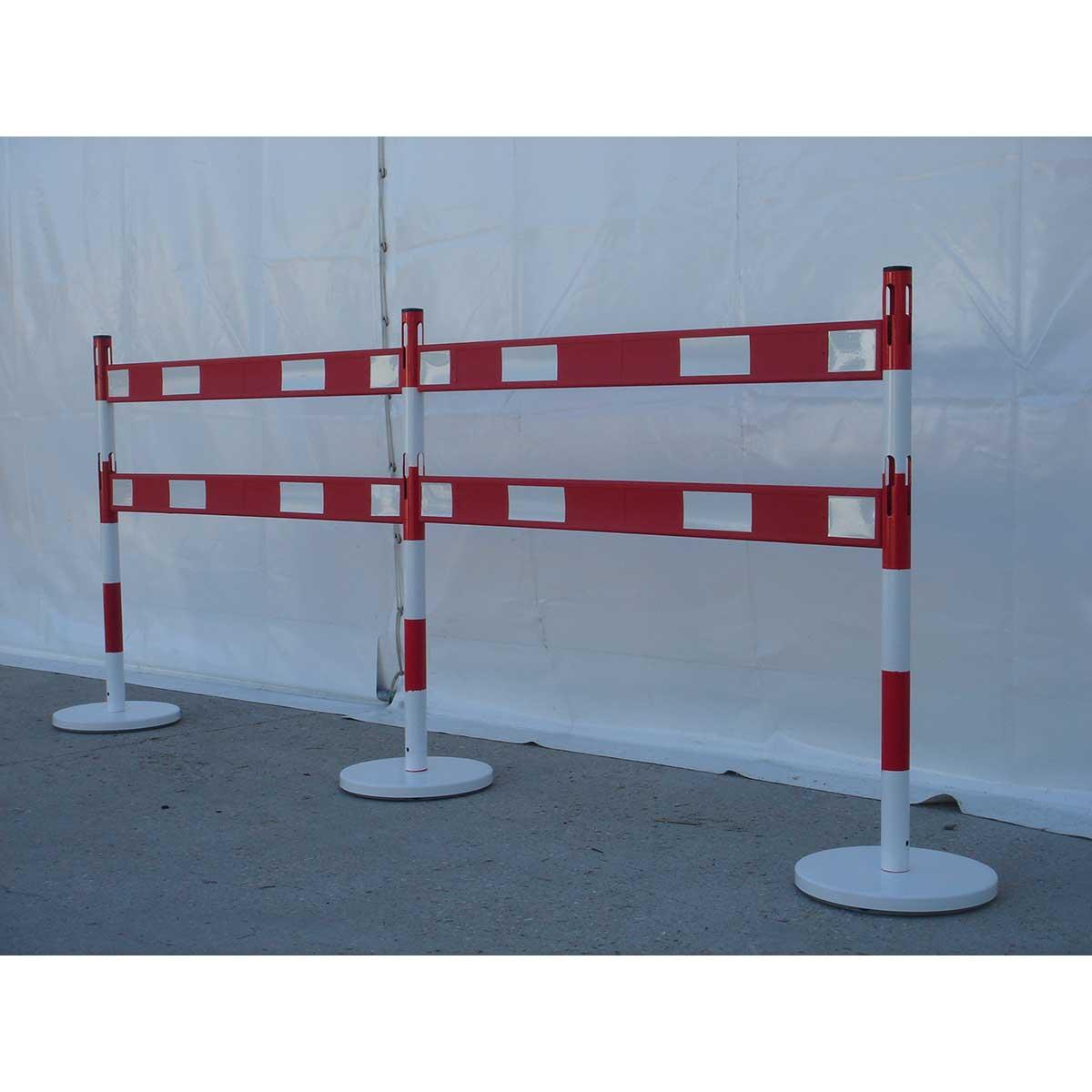 Kits de postes de señalización con barreras