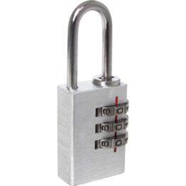 Candado numérico de aluminio