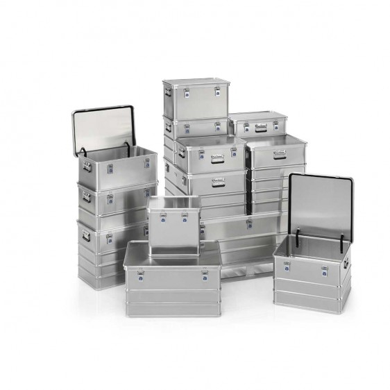 Caja de aluminio con tapa LUX 2