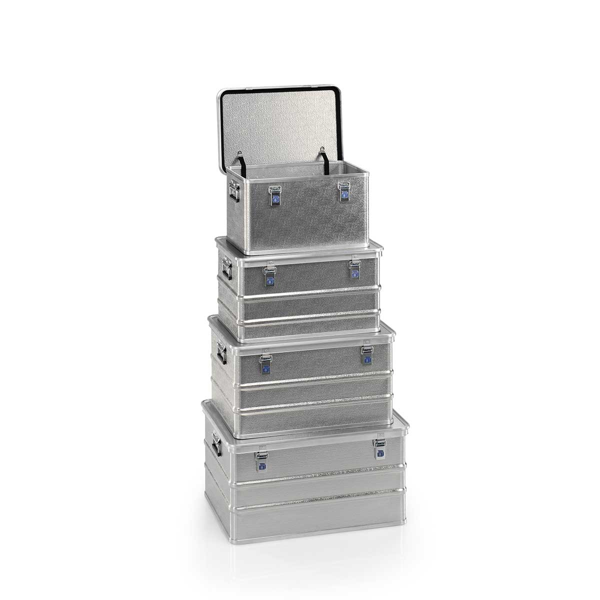 Caja de aluminio con tapa LUX 1