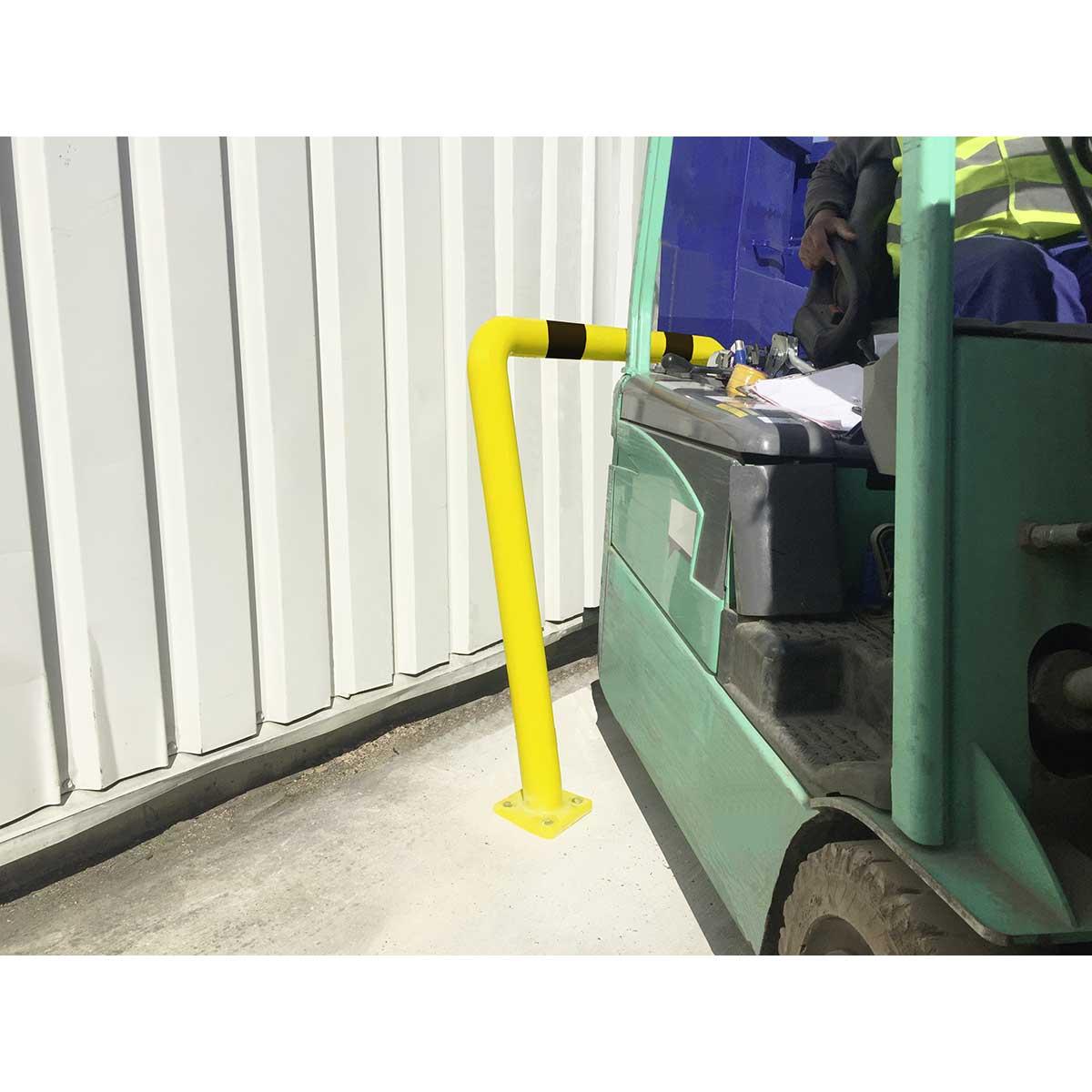 Arcos de polímero flexible para protección y delimitación de zonas