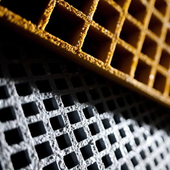 Rejilla GRP antideslizante para todo tipo de estructuras