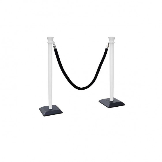 Poste PVC para cuerdas