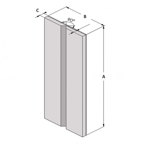 Protecciones angulares adhesivas de espuma EVA