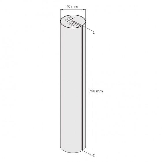 Protección para bordes en espuma EVA