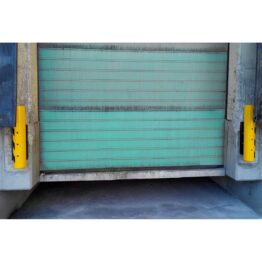 Tope para muelle de carga en polímero de alta resistencia