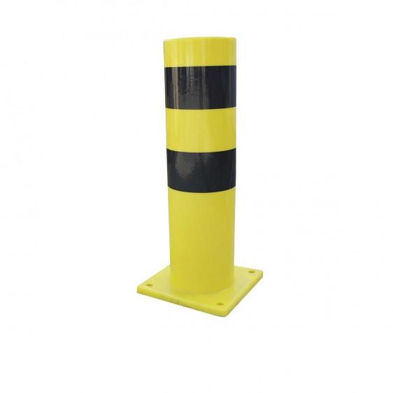 Pilonas de polímero flexible para protección contra colisiones