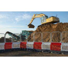 Valla anti-escalada para grandes obras y excavaciones