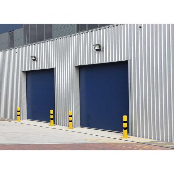 Pilonas y bolardos de acero para almacén, paso de vehículos, anti-alunizaje, etc.