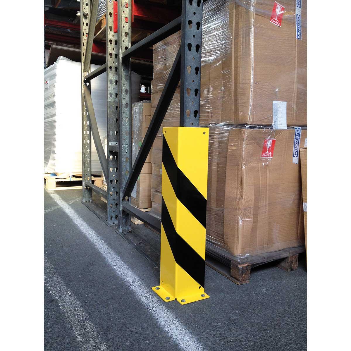Protecciones en ángulo para estanterías, columnas, tuberías...