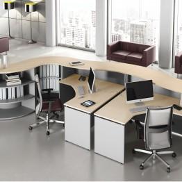 mobiliario de alta calidad de recepción ask02