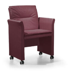 Sofá de oficina o espera de alta calidad Hecos - Sillón con ruedas