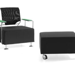 Sofá de oficina o espera de alta calidad Enosi sofá