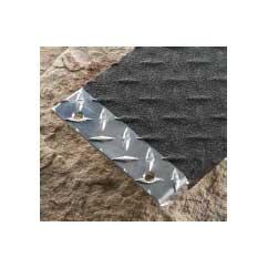 Cinta adhesiva antideslizante abrasiva conformable