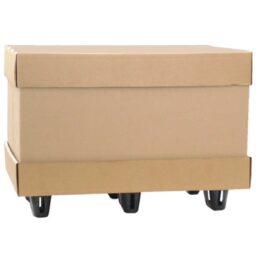 Contenedor plegable de cartón