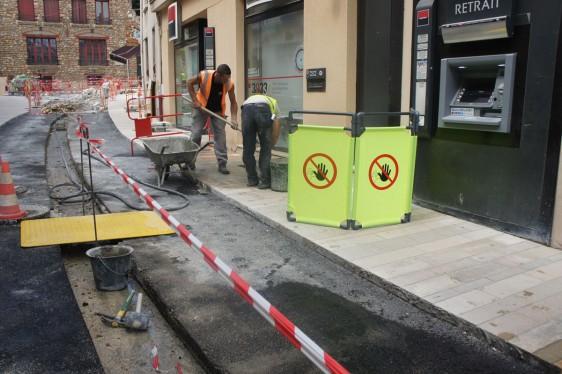 Barreras plasticas para obras. Disset Odiseo