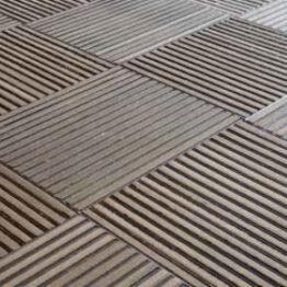 Suelos de aluminio con efecto cepillo