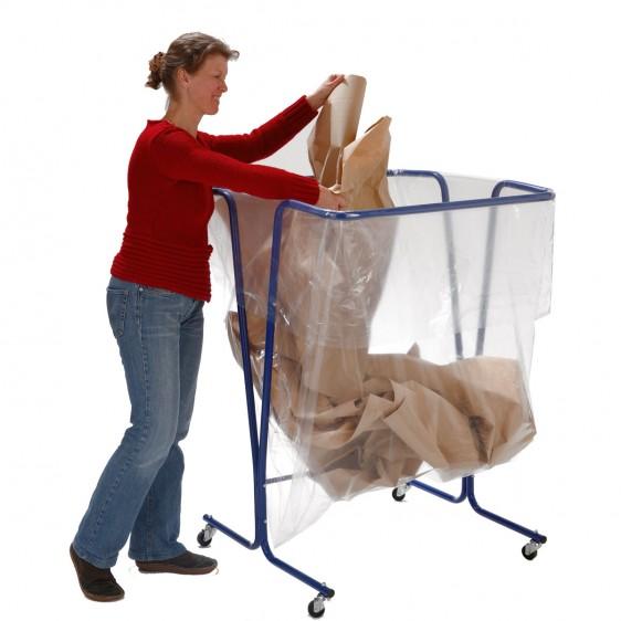 soporte para bolsas de basura de alta capacidad. Disset Odiseo