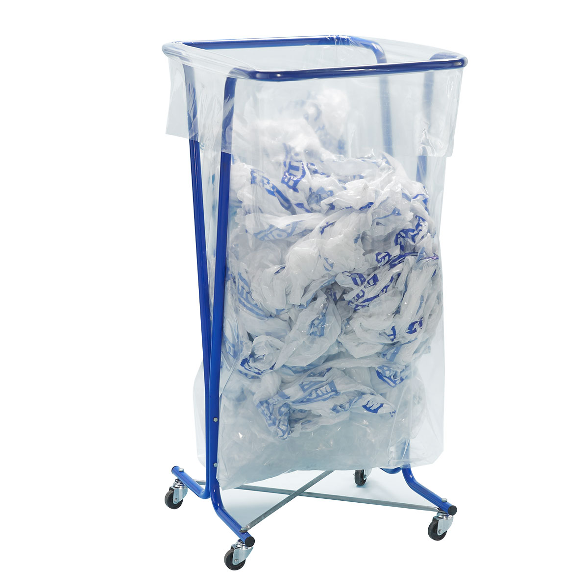 Soportes para bolsas de basura de grandes con o sin ruedas. Disset Odiseo