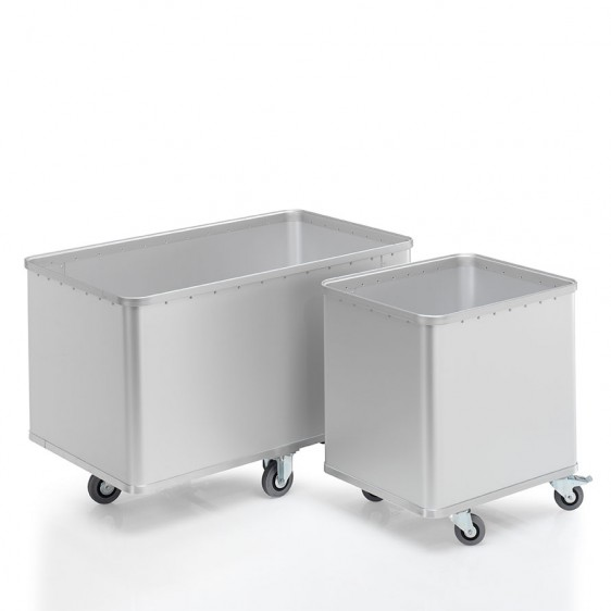 Carros de aluminio anodizado. Disset Odiseo