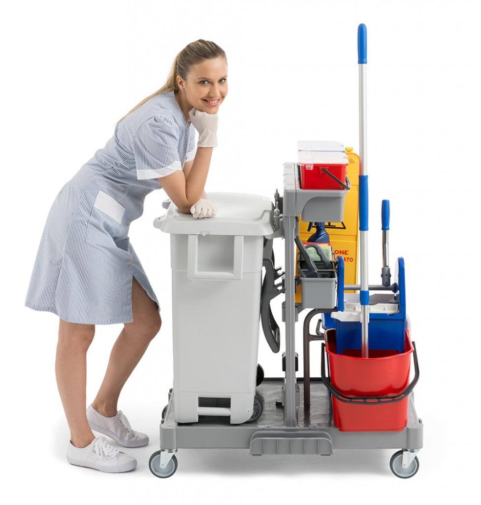 Carro de limpieza profesional