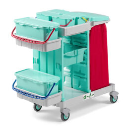 Carro antibacteriano para hospitales