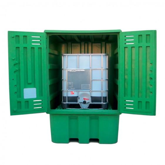 Depósito de exterior en PE ecológico de media densidad LLDPE