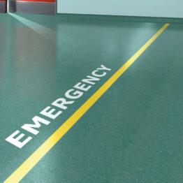 Suelos para hospitales