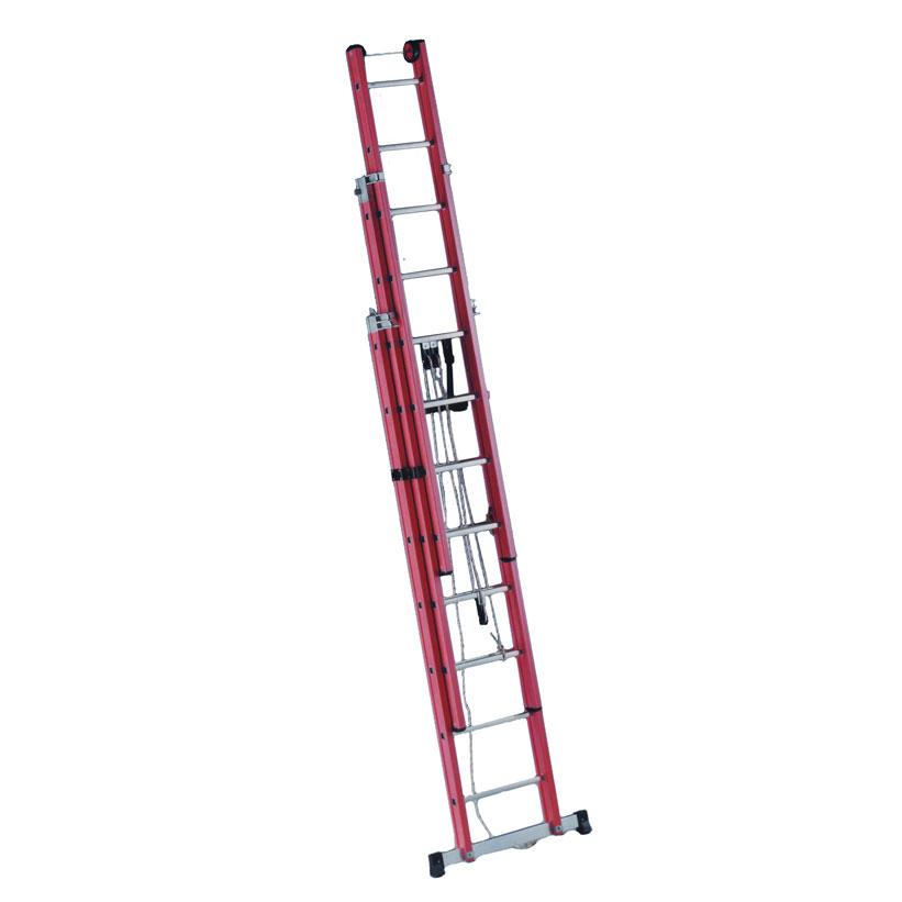 Escalera a dos o tres tramos para electricista pv for Escalera de electricista