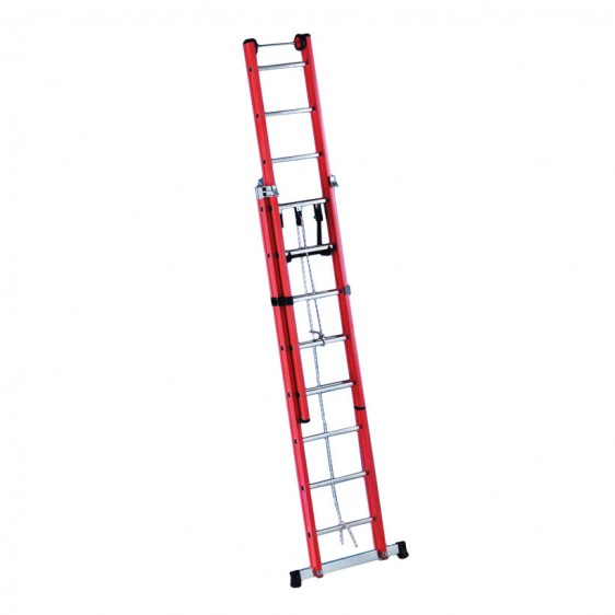 Escalera a dos o tres tramos para electricista pv - Escaleras tres tramos ...
