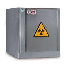 Armarios de seguridad resistentes al fuego para productos radioactivos