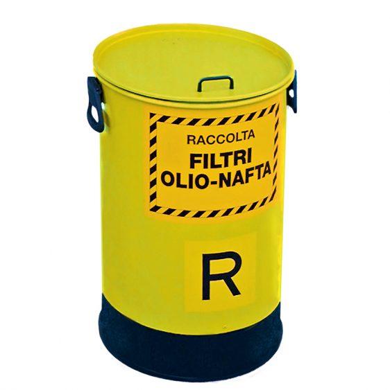 Contenedores para filtros de aceite