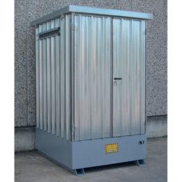 Depósito de exterior para KTC formado por cubeto y cubierta