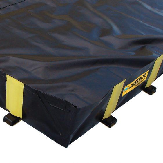Cubetos de retención fabricados en PVC plegables y transportables
