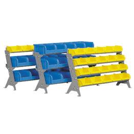 Soportes de mesa y pared para cajas