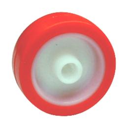 Rueda de poliuretano con núcleo en poliamida