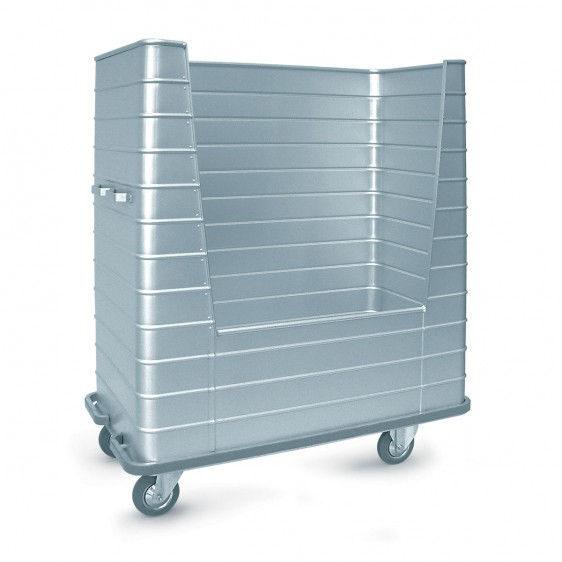 Carro de aluminio con apertura lateral